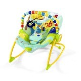 BRIGHT STARS Rock in the Park Rocker [7001] - Baby Highchair and Booster Seat