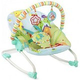 BRIGHT STARS Snuggle Jungle Rocker [60340] - Baby Highchair and Booster Seat