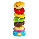 BRIGHT STARS Stack & Spin Burger [52126] - Learning and Growing