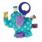 BRIGHT STARS Taggies Plus Elephant [9197-e] - Mainan Gantung / Stroller Toy