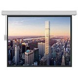BRITE Screen Signature Motorized Large [SMR-400300Q] (Merchant) - Proyektor Screen Motorize