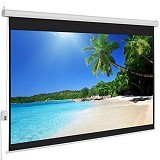 "BRITE Deluxe Motorized 120"" [DMR-3030] (Merchant) - Proyektor Screen Motorize"