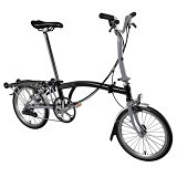 BROMPTON M6R - Black/Grey (Merchant) - Sepeda Lipat / Folding Bike