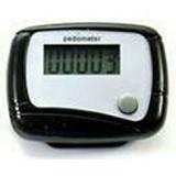 BRONSIS STORE Alat Pengukur Langkah Kaki - Black - Alat Pencatat Langkah / Pedometer
