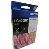 BROTHER Black Ink Cartridge [LC-400 BK] - Tinta Printer Brother