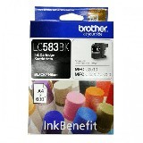 BROTHER Black Ink Cartridge LC-583BK