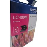 BROTHER Magenta Ink Cartridge [LC-400 M] - Tinta Printer Brother