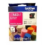 BROTHER Magenta Ink Cartridge [LC-583M] - Tinta Printer Brother