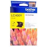 BROTHER Yellow Ink Cartridge [LC-400 Y] - Tinta Printer Brother