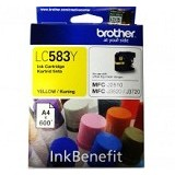BROTHER Yellow Ink Cartridge LC-583Y