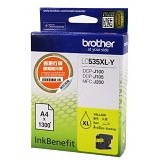 BROTHER Yellow Ink Catridge [LC-535XL Y] - Tinta Printer Brother