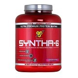 BSN Syntha 6 - 5 lbs Strawberry (Merchant) - Suplement Penambah Daya Tahan Tubuh