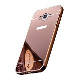 BUMPER CASE Mirror Sliding Case Samsung Galaxy A8 - Rose Gold (Merchant) - Casing Handphone / Case