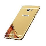 BUMPER CASE Mirror Sliding Case Samsung Galaxy J510 (J5 2016) - Gold (Merchant) - Casing Handphone / Case