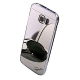 BUMPER CASE Mirror Sliding Case Samsung Galaxy Note Edge - Silver (Merchant) - Casing Handphone / Case