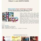 BeeDesign Paket Desain Kartu Nama 2 DVD (Merchant) - Software Illustration / Design Licensing