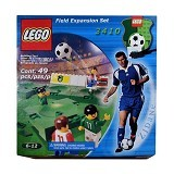 LEGO Soccer Field Expansion Set Minifigures Sports [L 3410] (Merchant) - Building Set Fantasy / Sci-Fi