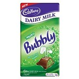 CADBURY Bubbly Mint - Aneka Coklat