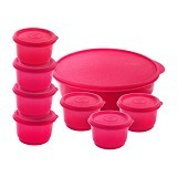 CALISTA Oedo Circle Container - Red