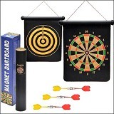 CALLIASTORE Magnetic Dart Board Uk 12 Inch (Merchant) - Mainan Tembakan / Dart