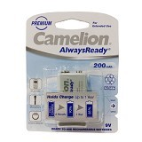 CAMELION 9V 200 mAh Bp1 Ni-MH_1 - Battery and Rechargeable