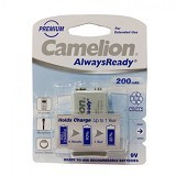 CAMELION 9V 200 mAh RTU (Merchant) - Battery and Rechargeable