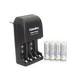 CAMELION Charger 0904 + Baterai A2 2100 BP4 Always Ready (Merchant) - Battery and Rechargeable