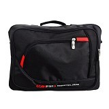CAMPUS Laptop Bag 3 in 1 - Black (Merchant) - Notebook Carrying Case
