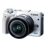 CANON EOS M3 Kit EF-M 15-45mm - White (Merchant) - Camera Mirrorless
