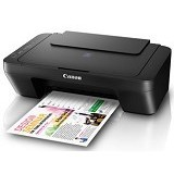 CANON PIXMA [E410] - Black (Merchant) - Printer Home Multifunction