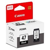 CANON Black Ink Cartridge [PG47] - Tinta Printer Canon