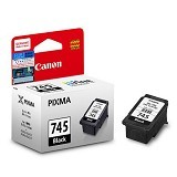 CANON Black Ink Cartridge [PG745] - Tinta Printer Canon
