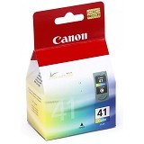CANON Color Ink Cartridge [CL-41] - Tinta Printer Canon