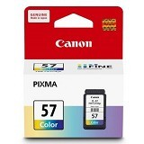 CANON Color Ink Cartridge [CL57] - Tinta Printer Canon
