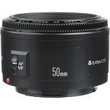 CANON EF 50mm f/1.8 II - Camera Slr Lens