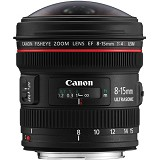 CANON EF 8-15mm f4 Fisheye - Camera Slr Lens