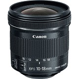 CANON EF-S 10-18mm f/4.5-5.6 IS STM - Camera Slr Lens