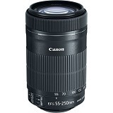 CANON EF-S 55-250mm f/4-5.6 IS (Merchant) - Camera Slr Lens