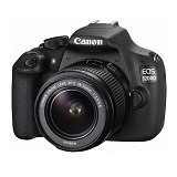 CANON EOS 1200D Kit Non IS - Black - Camera Slr