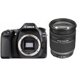 CANON EOS 80D Kit3 - Black - Camera Slr