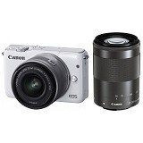 CANON EOS M10 Double Kit2 - White (Merchant) - Camera Mirrorless