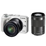 CANON EOS M3 Double Kit - White - Camera Mirrorless