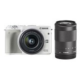 CANON EOS M3 Double Kit1 - White (Merchant) - Camera Mirrorless