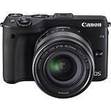 CANON EOS M3 Kit - Black - Camera Mirrorless