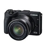 CANON EOS M3 Kit EF-M 15-45mm - Black (Merchant)