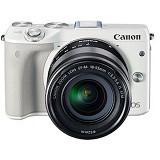 CANON EOS M3 Kit - White - Camera Mirrorless