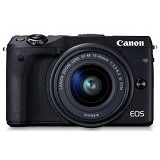 CANON EOS M3 Kit2 - Black - Camera Mirrorless