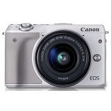 CANON EOS M3 Kit2 - White - Camera Mirrorless