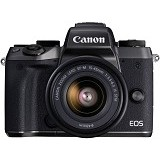 CANON EOS M5 Kit1 - Black - Camera Mirrorless