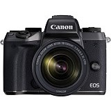 CANON EOS M5 Kit2 - Black - Camera Mirrorless